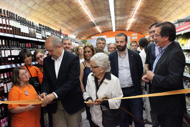 Inauguració CoopMercat Sant Andreu