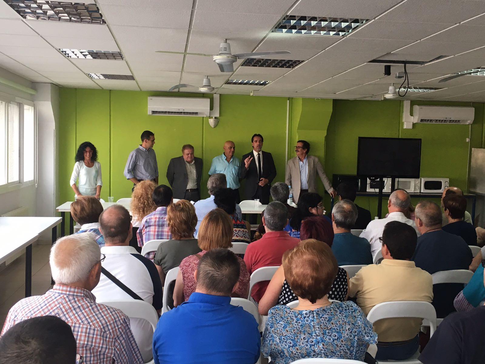 Inauguració ampliació CO TEB/Castellar