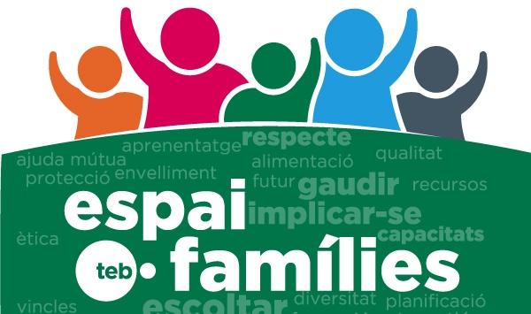 Logotip Espai Famílies d'AFAT
