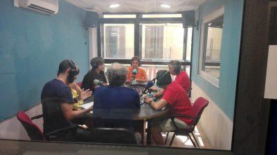 Gravació d'Ona TEB a Ràdio Castellar