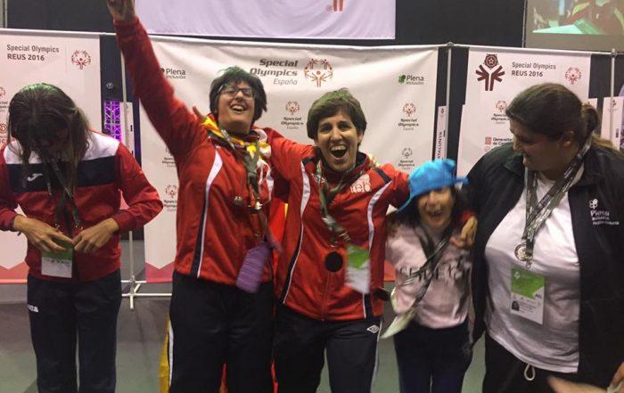 Medallistes TEB special olympics