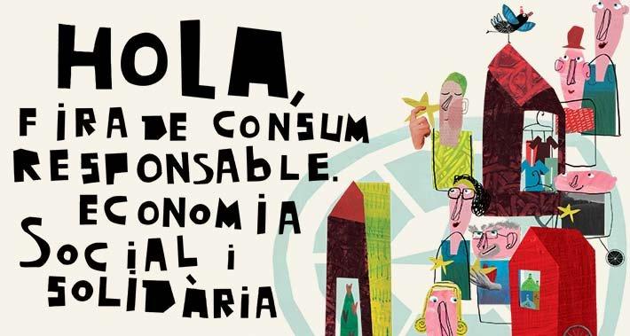 II Fira de consum responsable, economia social i solidària de Plaça Catalunya