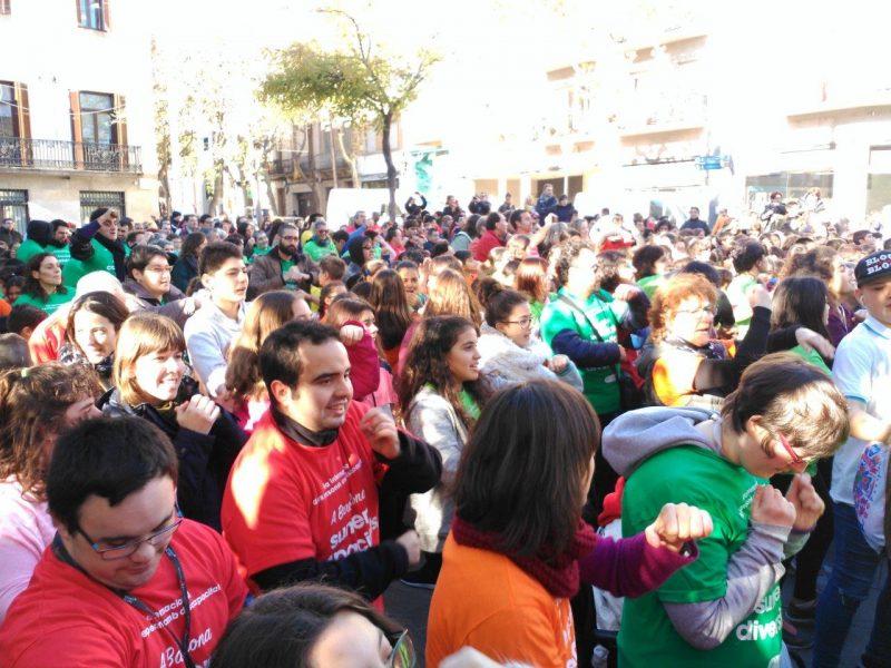 Flaix mob dia internacional discapacitat Sant Andreu