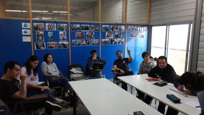 Sessió sobre noves tecnologies al TEB amb Òscar Martínez