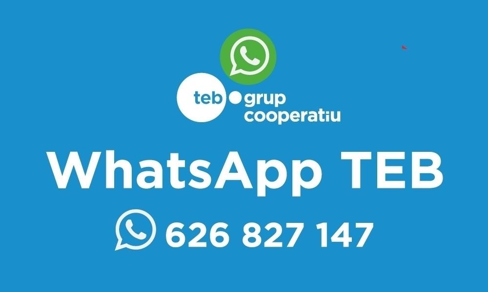 WhatsApp del TEB
