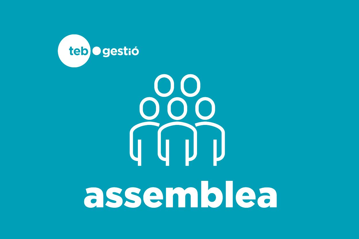 logotip assemblea TEB Gestió