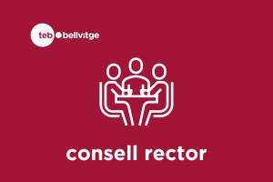 Logotip Consell Rector TEB Bellvitge