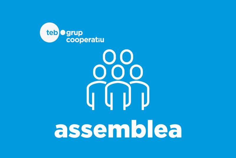 Logotip Assemblea Grup Cooperatiu TEB