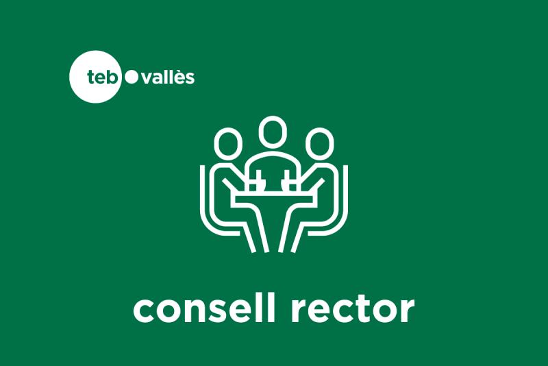 Logotip Consell REctor TEB Vallès