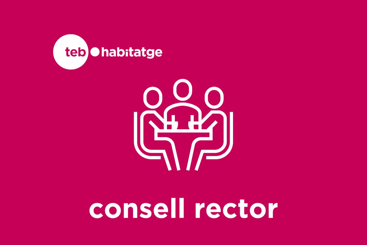Logotip Consell Rector TEB Habitatge