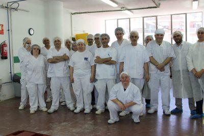 Treballadors i treballadores del TEB