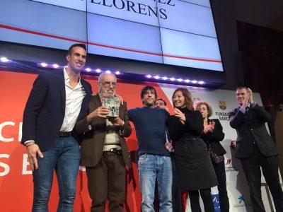 Premis Special Olympics a Francesc Martínez de Foix