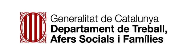 Resultado de imagen de logo generalitat departament de treball afers socials i famílies