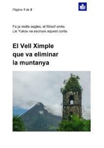 Fàbula El Vell Ximple (per descarregar en PDF)