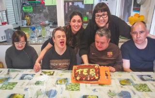 Qué bonic ha quedat el pastís de la Llar Castellar