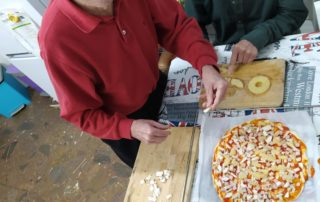 Què bona pinta aquestas pizzas!! (Savi)