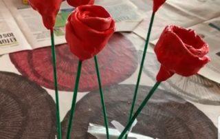 Molt boniques aquestes roses!