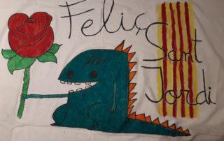 Feliç Sant Jordi, diu el dragó del Carles Solé!
