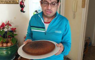 Mmmm, qué pona pinta el pastís de pastenaga de David Durán.