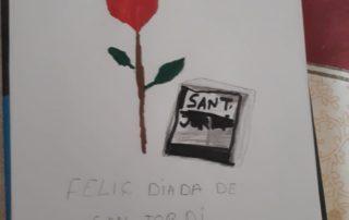 Lluís Parina ens diu Feliç Sant Jordi!