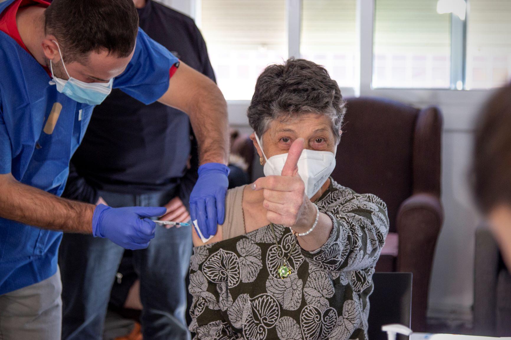 Les primeres vacunes al TEB Barceloneta