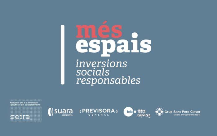 Logotip de Més Espais Finançament Social Responsable